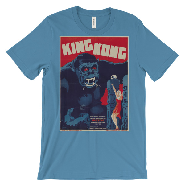 King Kong T Shirt Space Age Ideas